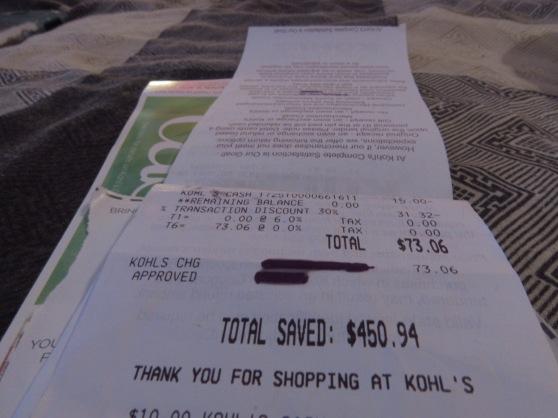 Kohl's Savings